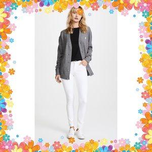 J Brand lavender & white batik jeans NWOT